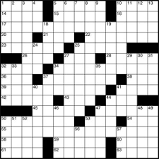 Play Crossword Puzzle